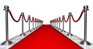 Eingang des roten Teppichs lizenzfreie abbildung