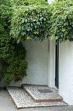 Eingang eines Hauses Stockbild