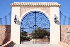 Eingang - Entrada - Willkommen Lizenzfreies Stockfoto