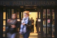 Eingang FO der British Library Stockfotografie