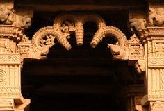 Eingang (Khajuraho) stockfotos