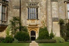 Eingang, Lacock-Abtei, England Stockfoto