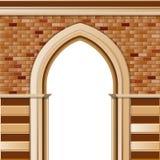 Eingang mit Bogen vektor abbildung