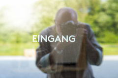 Eingang Stock Photos