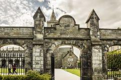 Eingang an St. Andrews University lizenzfreie stockfotos