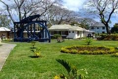 Eingang Sugar Museums in Mauritius Lizenzfreie Stockbilder