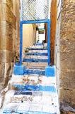 Eingang und Treppe Stockfotografie