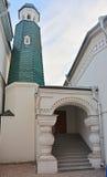 Eingang und Turm des Hauses eines pricht in St Petersburg, Russland Stockfotos