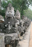 Eingang von Angkor Thom Lizenzfreie Stockfotografie
