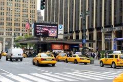 Eingang von Madison Square Garden, Manhattan Stockfoto