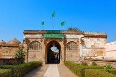 Eingang von Sarkhej Roza Moscheen- und Grabkomplex Lizenzfreie Stockfotos