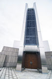 Eingang von St Mary Kathedrale in Tokyo Stockbild