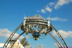 Eingang von Tomorrowland Lizenzfreies Stockbild