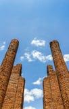 Eingang zu den Ruinen Stockbild