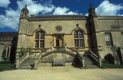 Eingang zu einem englischen Landhaus Lizenzfreies Stockbild