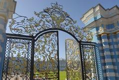 Eingang zu einem Palast Stockbilder