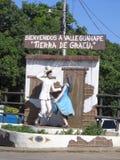 Eingang zu Guanape-Tal Lizenzfreies Stockbild