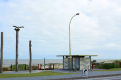 Eingang zu Henley Beach, Süd-Australien stockfotografie