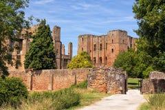 Eingang zu Kenilworth-Schloss, Warwickshire Lizenzfreie Stockfotos