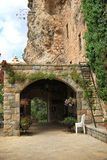 Eingang zu Khalil Gibran Museum, der Libanon Stockbilder