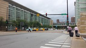 Eingang zu McCormick-Platz Lizenzfreie Stockfotos
