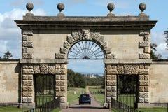 Eingang zu Studley königlich - Ripon-Kathedrale Stockfotos