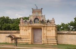 Eingang zu Tempel Soorakudi Shiva Lizenzfreie Stockfotos
