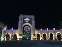 Eingang zu Universal Studios, Orlando, FL lizenzfreies stockbild