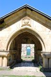 Eingang zum alten Kloster Stockbild