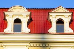 Eingang zum Dachbodenfenster Lizenzfreies Stockfoto