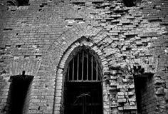 Eingang zum Fort Stockbild
