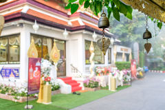 Eingang zum goldenen Berg, Bangkok, Thailand Stockfoto