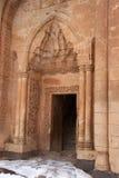 Eingang zum Ishak Pasha-Palast, die Osttürkei Stockbild