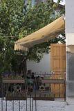 Eingang zum jüdischen Haus lizenzfreies stockfoto
