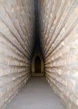 Eingang zum königlichen Kurgan in Kerch lizenzfreie stockbilder