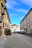 Eingang zum königlichen Palast von Venaria Lizenzfreie Stockfotos