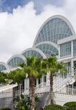 Eingang zum Konferenzzentrum lizenzfreies stockfoto
