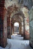 Eingang zum Landsitz Zavadovsky Stockfoto