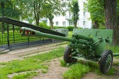 Eingang zum Museum-Bunker Kaliningrad Russland Lizenzfreies Stockfoto