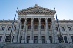 Eingang zum Palast des uruguayischen Parlaments Lizenzfreie Stockfotografie