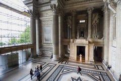 Eingang zum Palast von Gerechtigkeit von oben Stockfoto