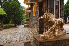 Eingang zum Park in Dalat Lizenzfreie Stockfotografie