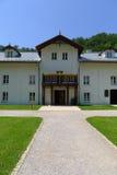 Eingang zum schönen Gebäude in Ojcow Stockfoto