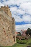 Eingang zum Schloss lizenzfreie stockfotos
