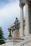 Eingang zum Staat Missouri-Kapitol lizenzfreies stockbild