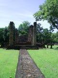 Eingang zum Tempel stockbild