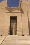 Eingang zum Tempel von Kalabsha Lizenzfreies Stockbild