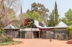 Eingang zum Zoo in Bloemfontein Lizenzfreies Stockbild