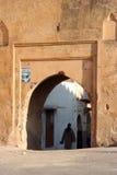 Eingang zur alten Stadt Stockfotografie