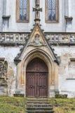 Eingang zur Kapelle lizenzfreie stockfotos